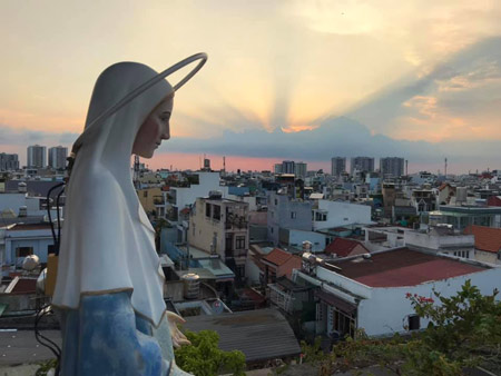 Ignatian retreat for the novices in Vietnam