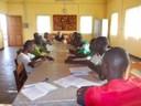Encuentro vocacional en Bouar