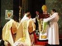 El Hno. Habib ordenado diácono.