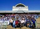 Peregrinación de los colegios betharramitas de Paraguay a Caacupé