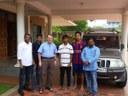 Visita del P. Enrico Frigerio scj, Superior Regional, a la casa de formación de Mangalore