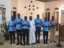 Inicio del noviciado de Vicariato en Costa de Marfil