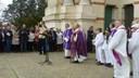 Ouverture de la porte sainte de la basilique sainte Germaine de Pibrac
