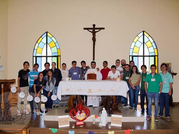 Récollection vocationnelle organisée par le Vicariat du Paraguay