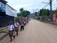 La vie reprend en Thaïlande … avec prudence …
