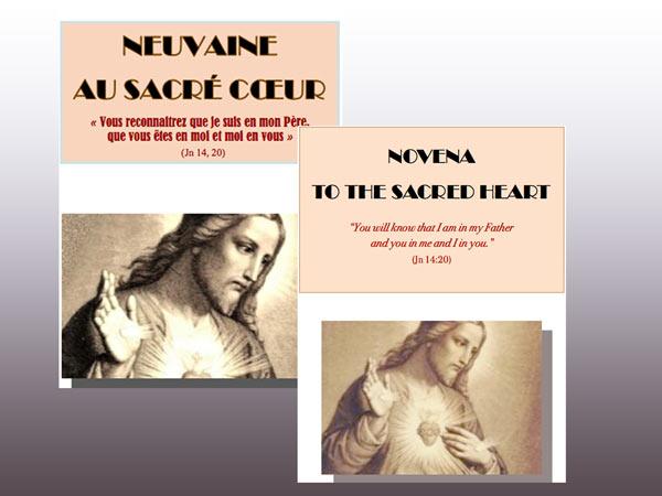 Neuvaine pour la solennité du Sacré-Cœur
