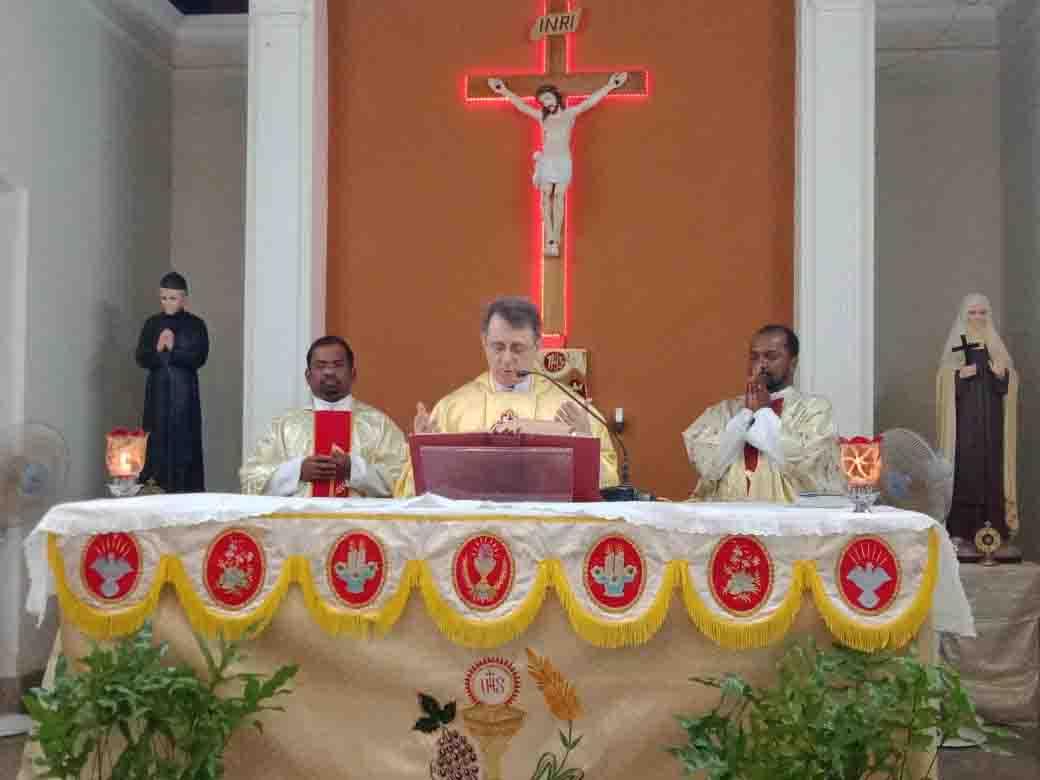 Un temps fort pour le Vicariat d'Inde