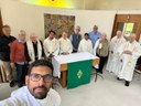 I religiosi del Vicariato d'Inghilterra in ritiro