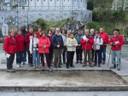 Un gruppo di parrocchiani di Pibrac in pellegrinaggio sulle orme di San Michele Garicoïts