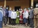 """Il Ministro della Salute Pubblica del Governo Centrafricano in visita al centro """"St Michel"""" di Bouar"""