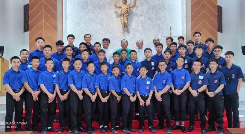 Incontro dei giovani in formazione nel Vicariato di Thailandia