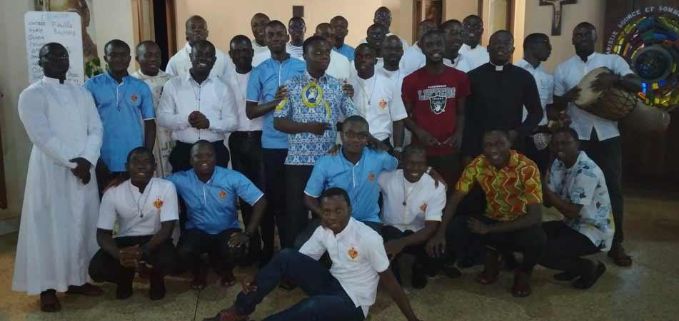 Inizio dell'anno comunitario 2020-2021 ad Adiapodoumé